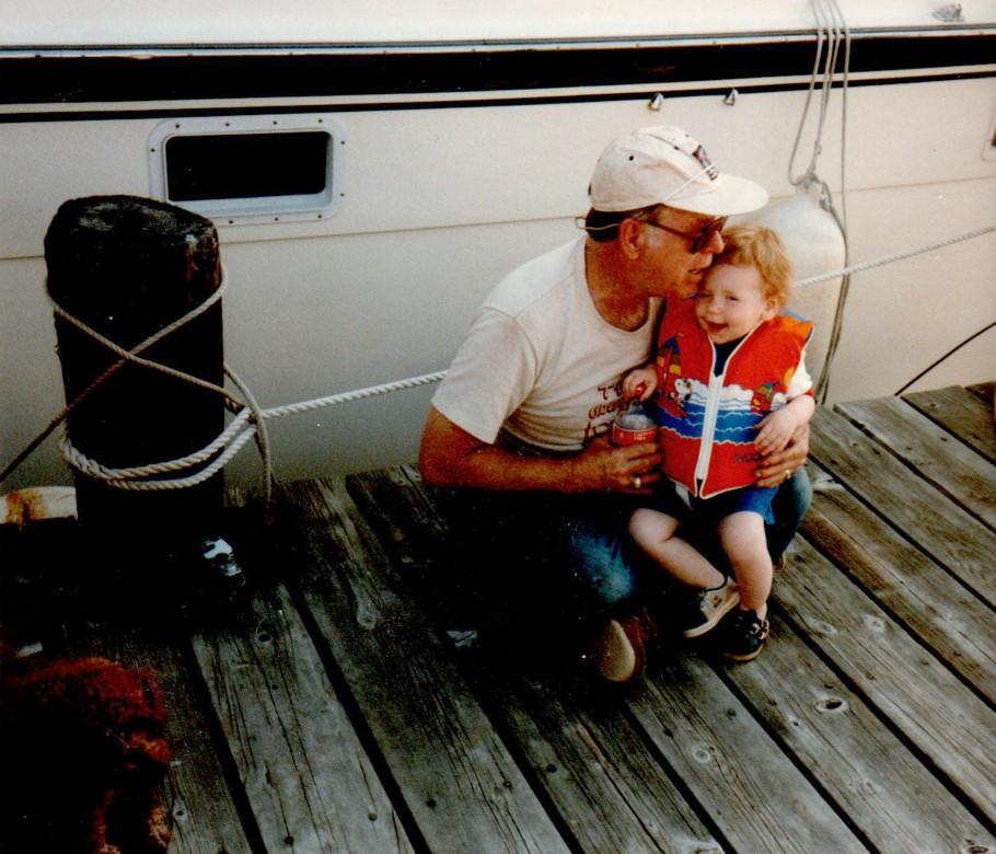 family portrait/color baby photo