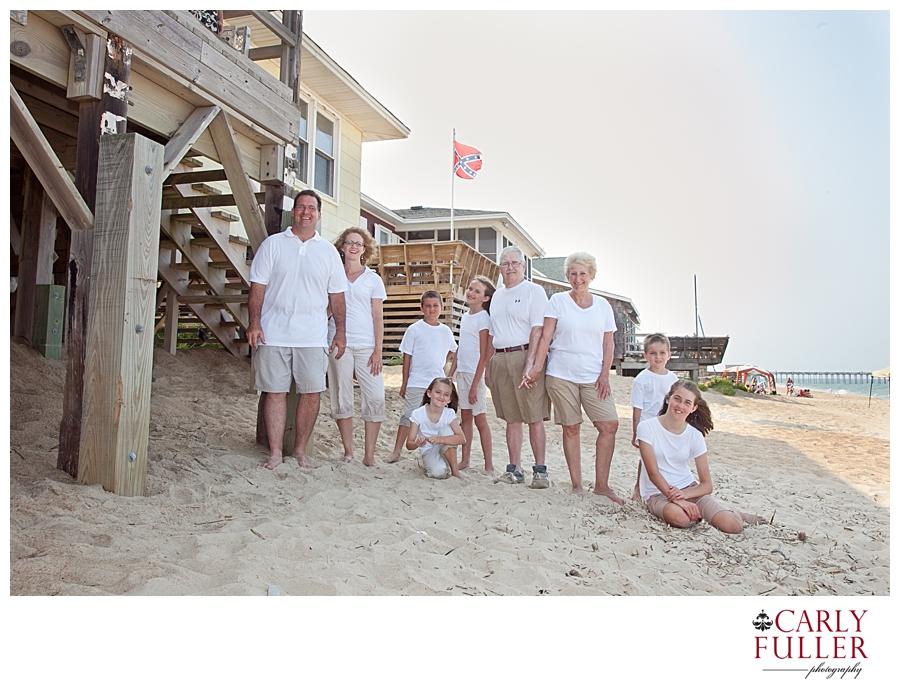 Kitty Hawk NC Beach Family Photography Session - Destination Family Portrait Photographer - Video Fusion