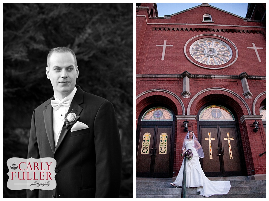 Windsor Connecticut Wedding Photographer - Windsor St Gabriels Church Wedding Photographer