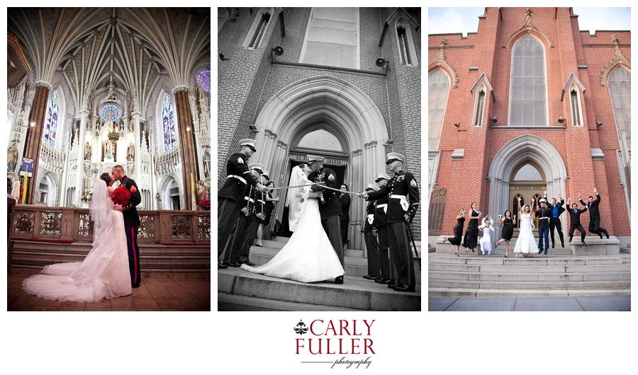 St Alphonsus Ceremony - Radisson Baltimore Wedding Photography