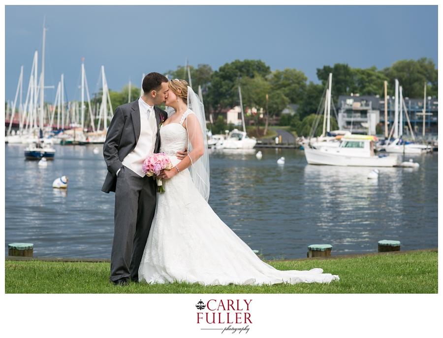 Eastport Bridge Annapolis - Nautical Wedding Photography