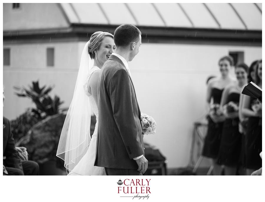 Rainy Day Annapolis Wedding Ceremony Photographer