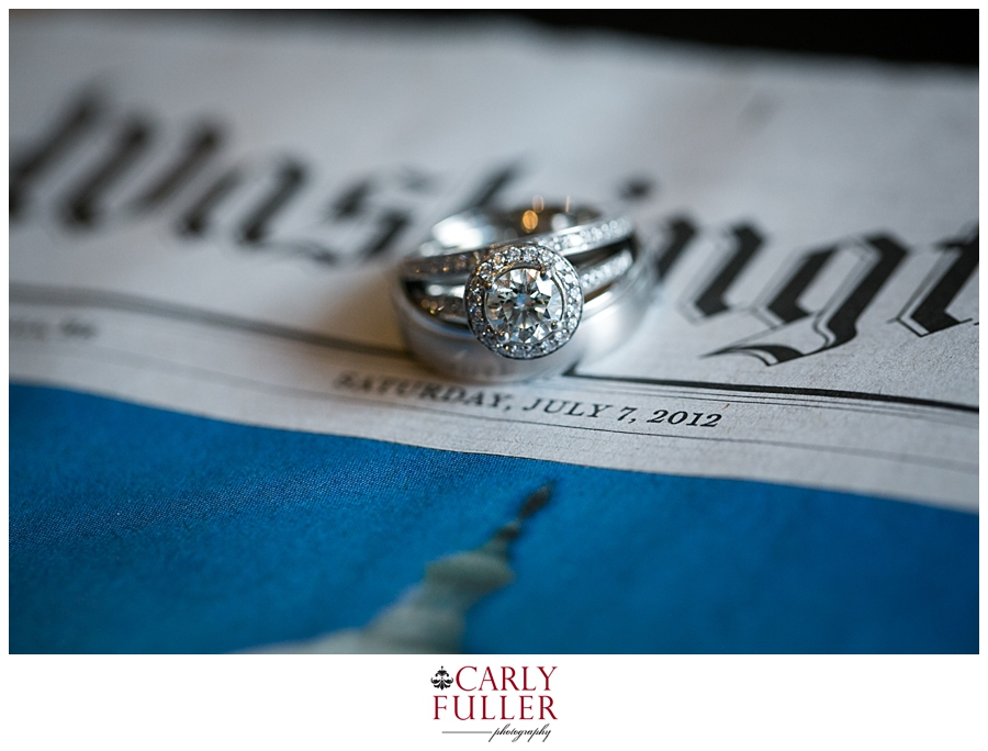 Annapolis Wedding Photographer | July 2012 wedding photography | Newspaper ring detail