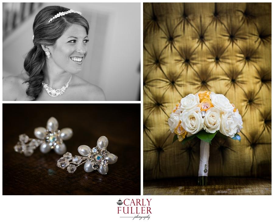 Annapolis Wedding Photographer | yellow and white bridal flowers