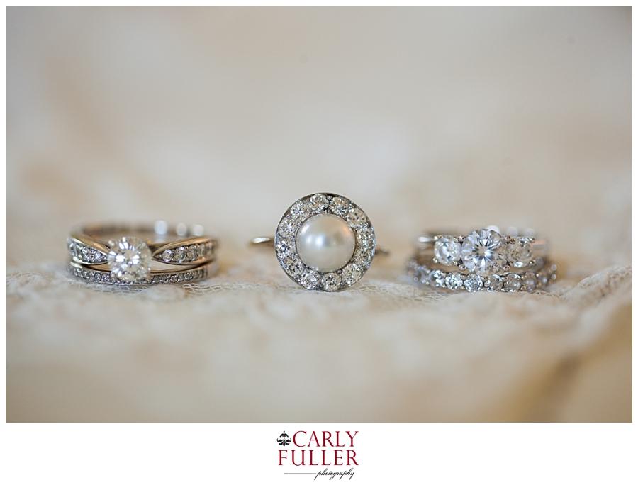 The Oaks Wedding ring detail- Easton MD Wedding - Eastern Shore Wedding Photographer