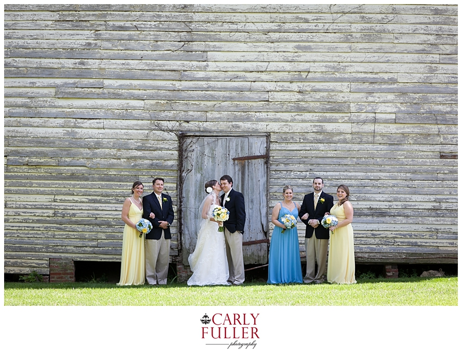 The Oaks Wedding Party - Easton MD Wedding - Eastern Shore Wedding Photographer