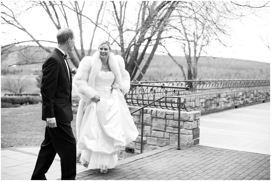 Hayfield Winter Wedding Photographer