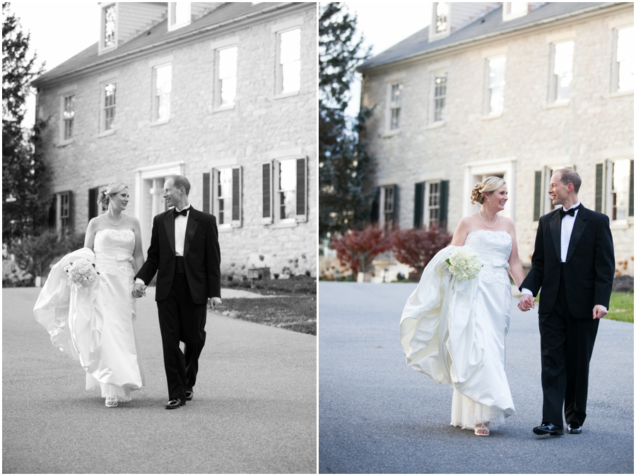 Bridal Portraits - Hayfield Winter Wedding Photographer