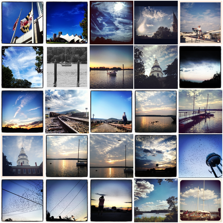 Dark Blue Instragram Photographs - Annapolis Photographer Places