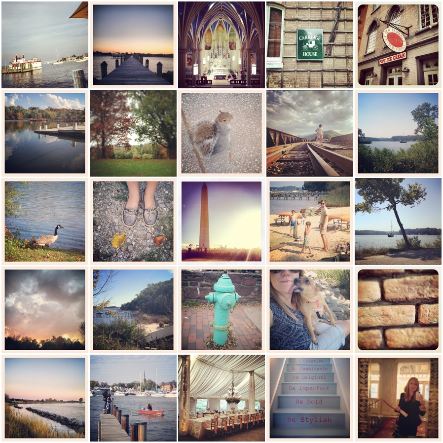 Peachy Blue Instragram Photographs - Annapolis Photographer Favorite Places