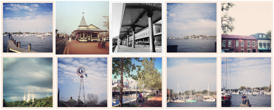 Light Blue Instragram Photographs - Annapolis Photographer Favorite Places