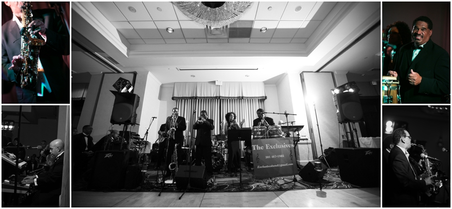 The Exclusives Wedding Band - Annapolit Waterfront Marriott - Annapolis Wedding Photographer