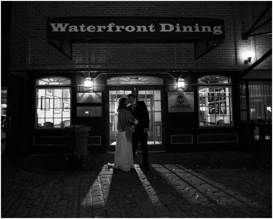 Annapolit Waterfront Marriott - Annapolis Wedding Photographer - Evening wedding portraits