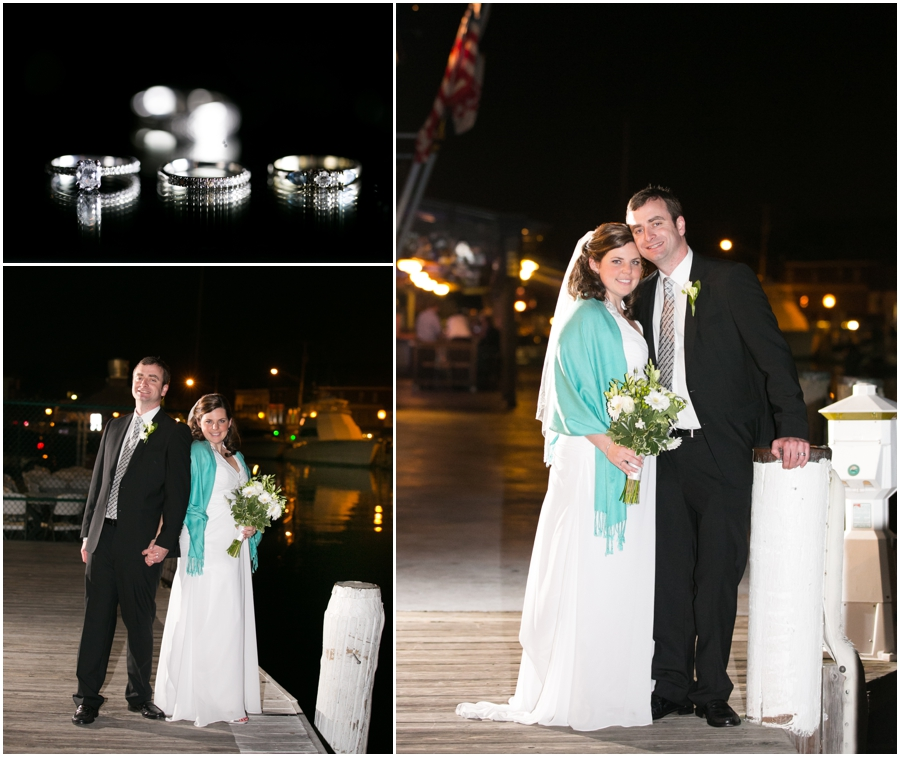 Annapolit Waterfront Marriott - Annapolis Wedding Photographer - Evening wedding formals