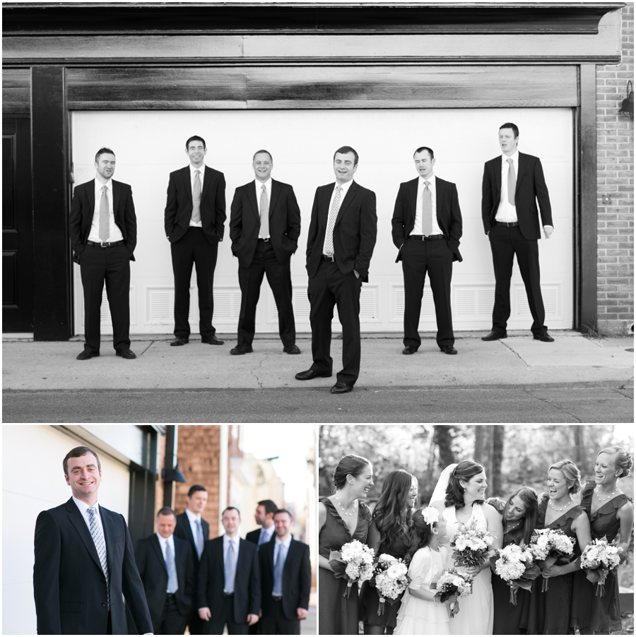 Gibsons Lodging - Groomsmen Getting Ready - Annapolis Wedding Photographer