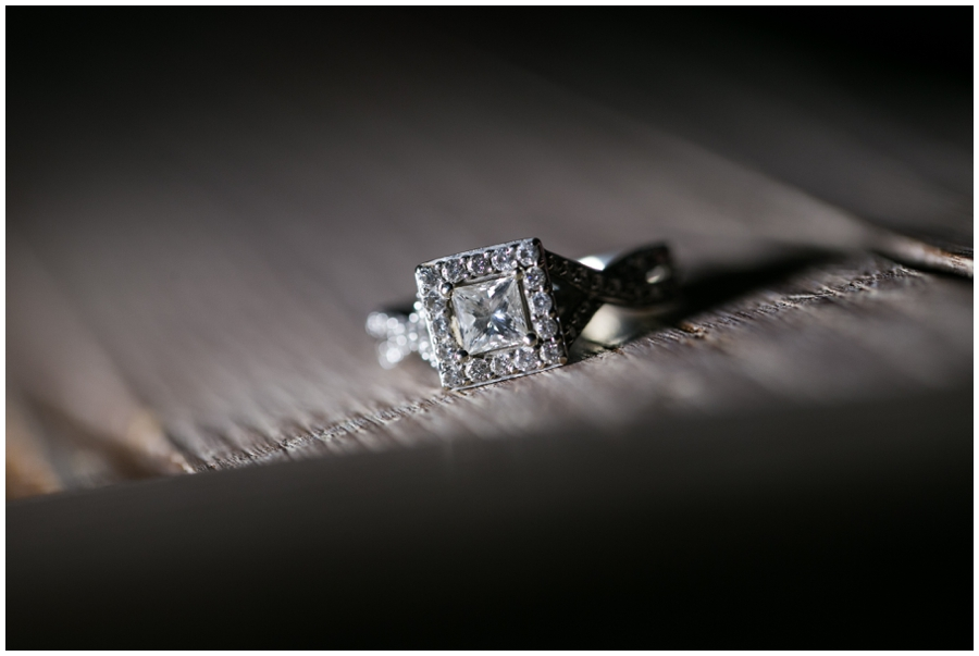 Halo Ring Detail - Cross Island Trail Engagement Photos - Eastern Shore Engagement Photographer