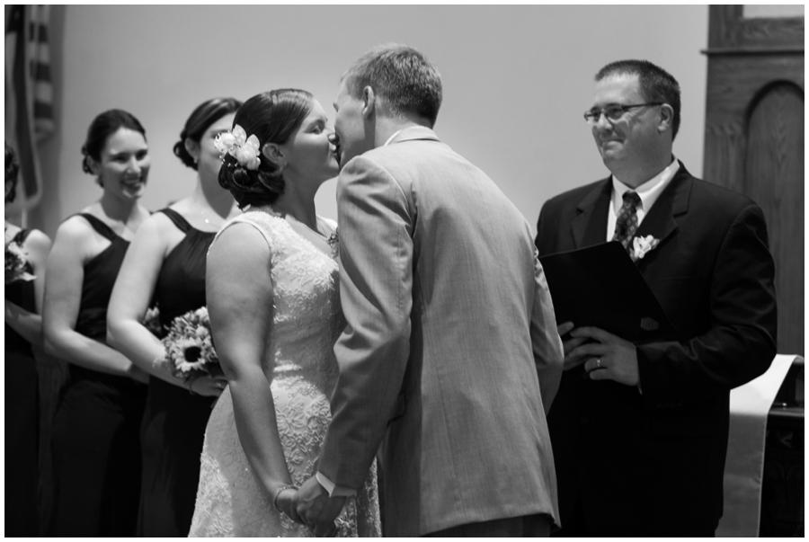 Gettysburg Ceremony - Liberty Mountain PA Wedding - PA Wedding Photographer - Destination Wedding Photographer