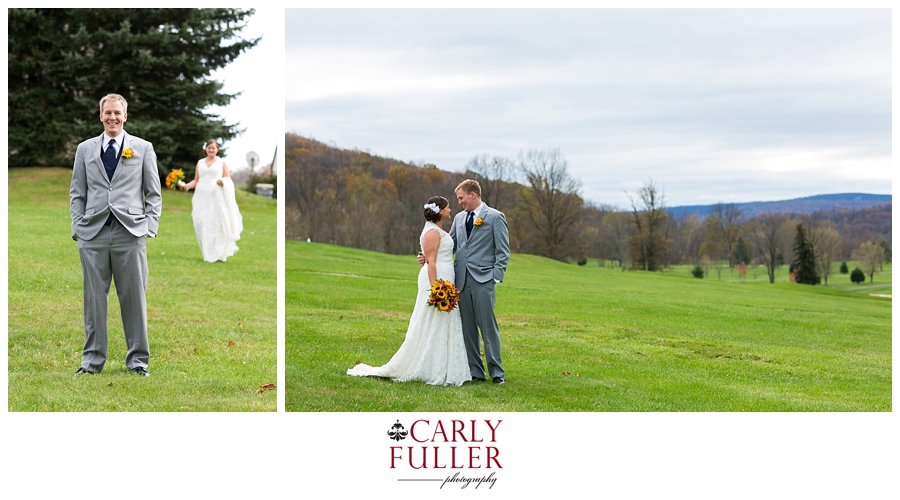 Autumn Mountain Wedding - Liberty Wedding PA - PA Wedding Photographer