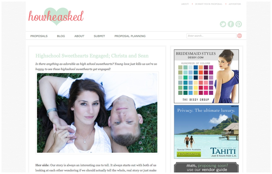 Annapolis Engagement Feature - HowHeAsked.com