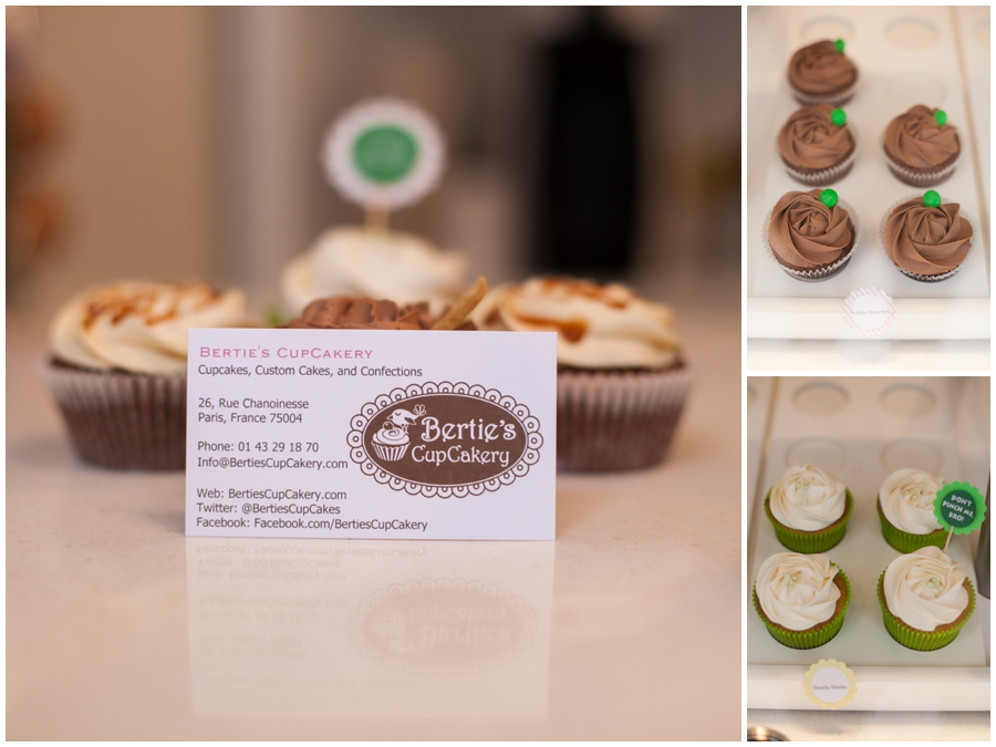 english speaking photographer in paris - Parisian Wedding Cupcakes - Berties CupCakery