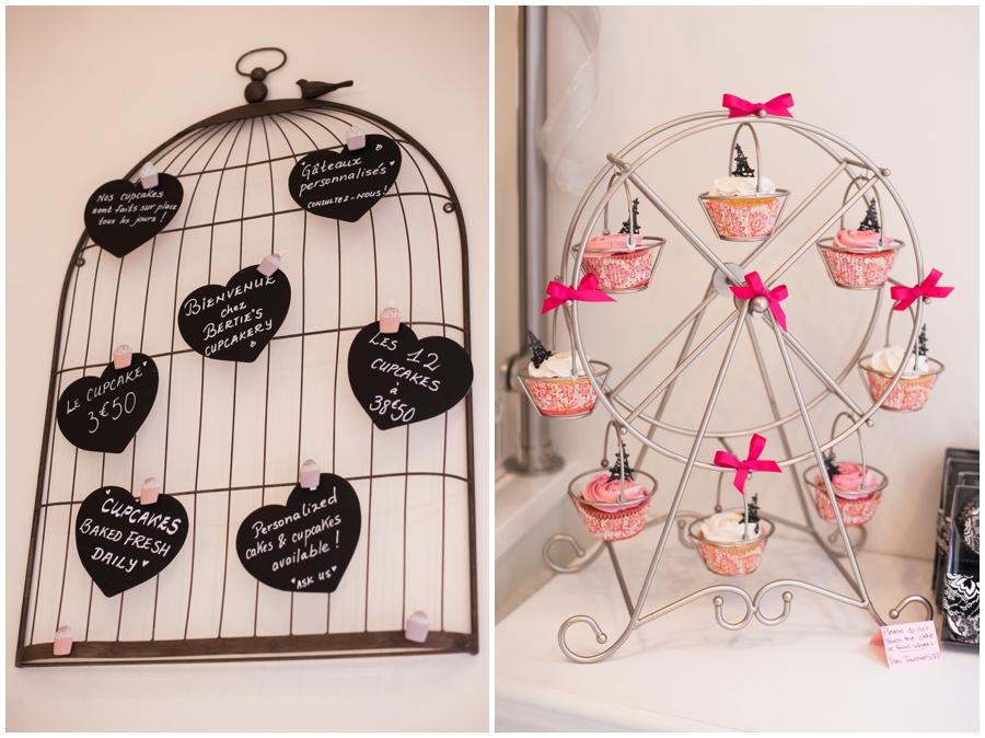 english speaking photographer in paris - Parisian Wedding Cupcakes