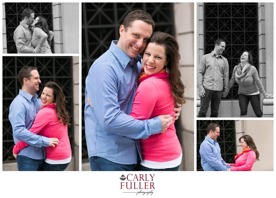 Pink Sweater - Washington DC Engagement - playful Love Session