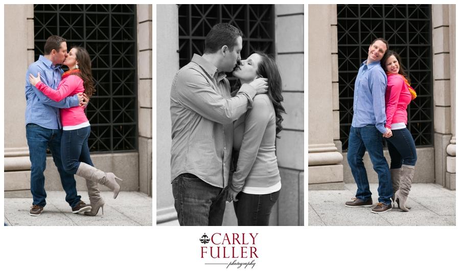 Pink Sweater - Washington DC Engagement - Love Session