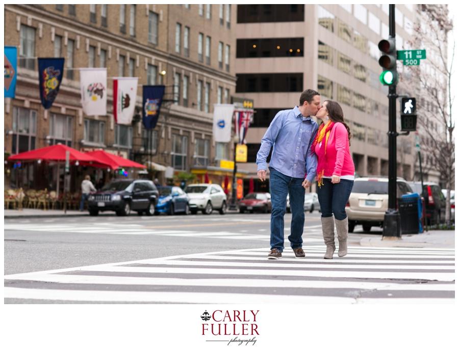 Washington DC Engagement - Street Cross Walk photo