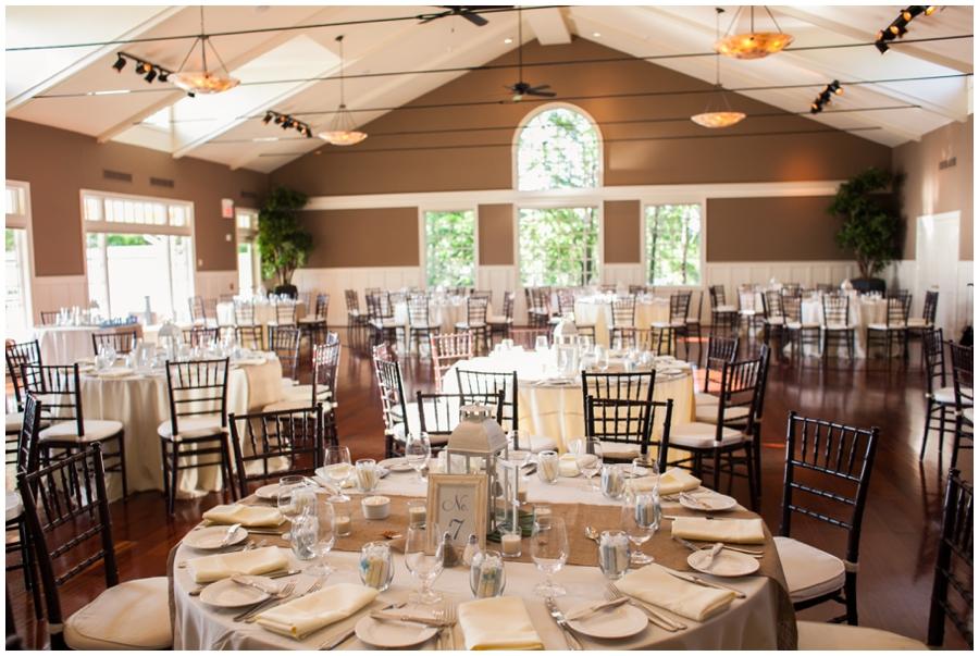 Chesapeake Bay Beach Club Wedding Photographer - Gold Sunset Ballroom