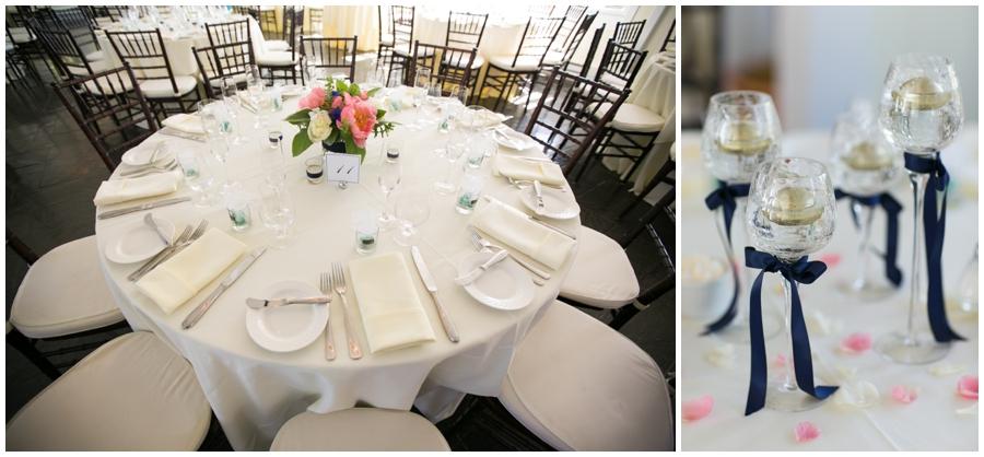 Chesapeake Bay Beach Club Wedding Photographer - Nautical Wedding Details - Local Color Flowers - Fiona's Cakes