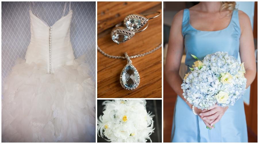 Beach House Wedding Details - Waterfront Seashore Wedding Details