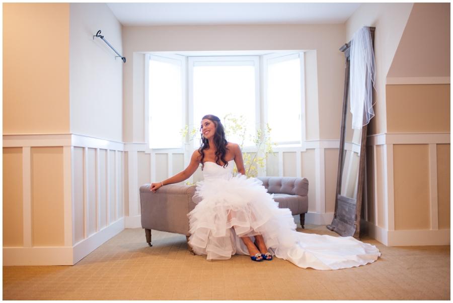 Chesapeake Bay Wedding Photographer - Bridals by Elena Wedding dress - Stevensville bridal portrait