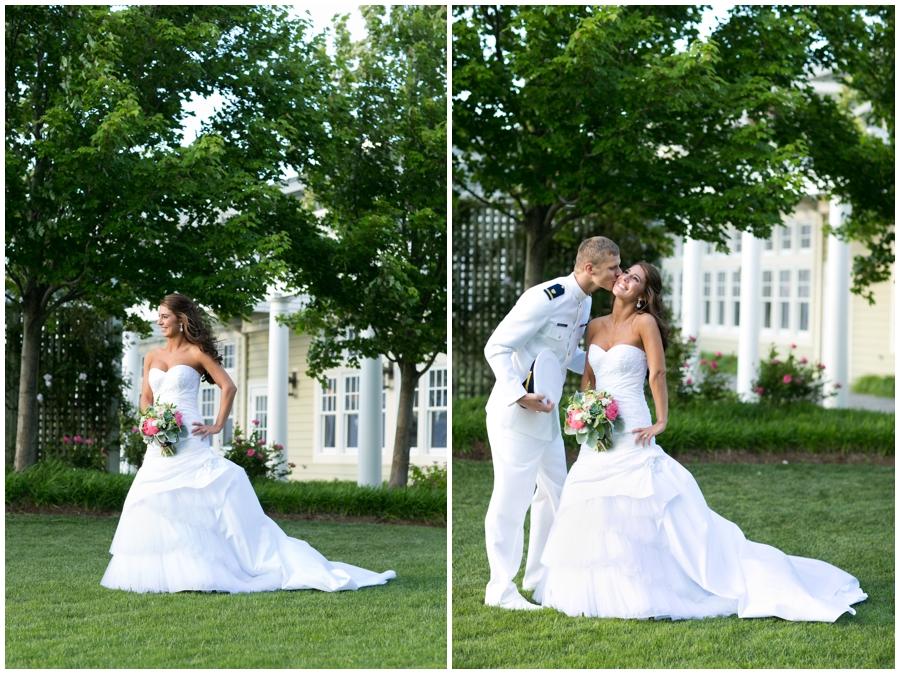 Waterfront Wedding Photographer - Chesapeake Bay Marriage Portrait