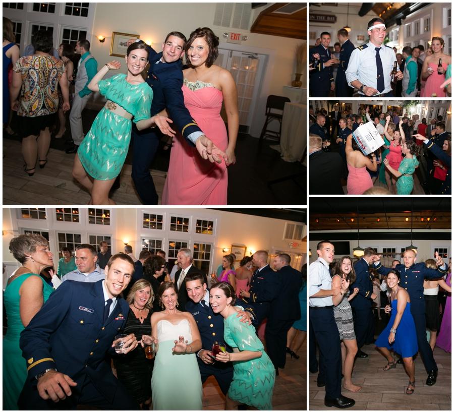 Tavern Ballroom Wedding Reception Photographs - Chesapeake Bay Beach Club Wedding Reception Photographer