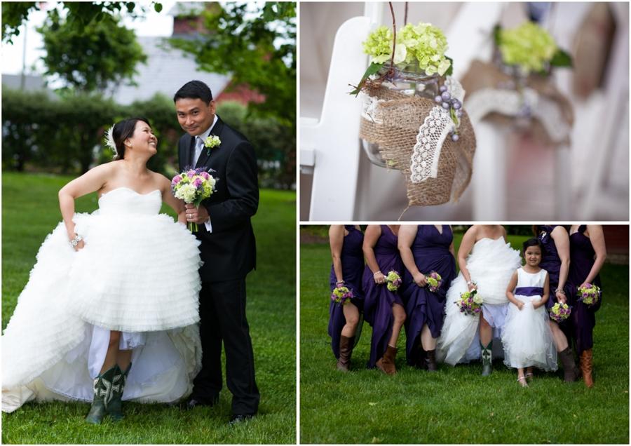 Swan Harbor Farm Wedding Photographer - Chic Farm Wedding Photographs