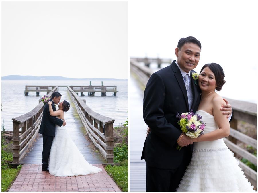 Waterfront Wedding Photographer - Chic Farm Wedding Photographs