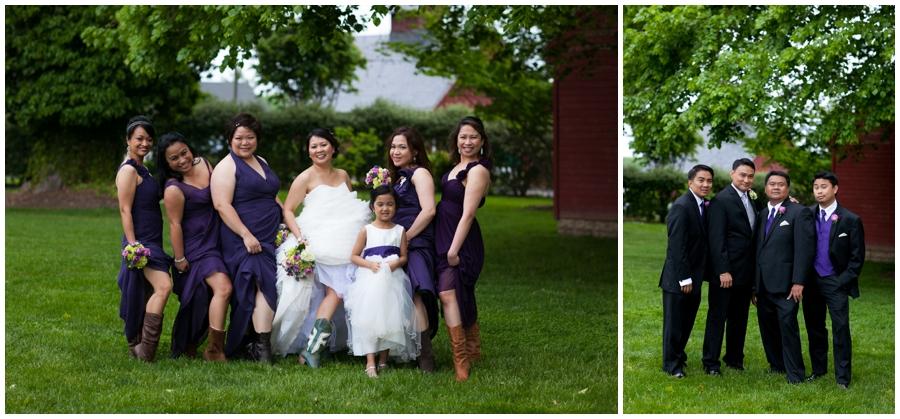Farm Wedding Photographer - Chic Farm Wedding Photographs