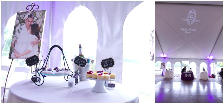Chic Farm Wedding Details - Havre de Grace Purple Wedding Detail Photographs