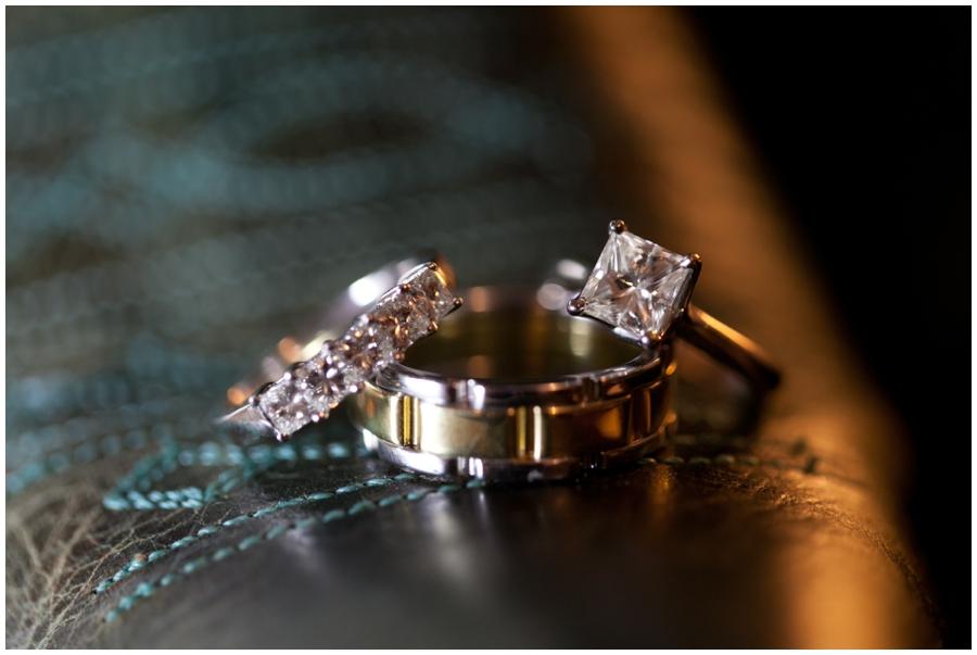 Chic Farm Wedding Details - Wedding Rings