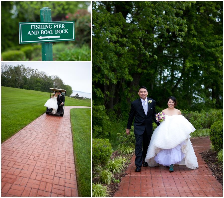 Chic Farm Wedding Details - Havre de Grace outdoor Wedding Ceremony