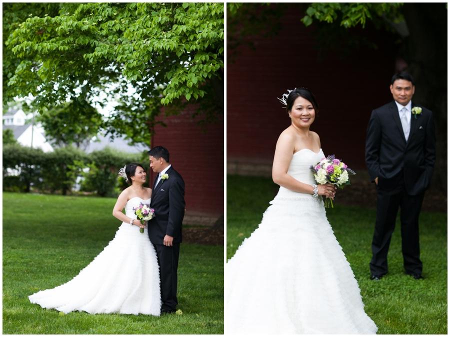 Chic Farm Wedding Photograph - Swan Harbor Farm Wedding Photographs
