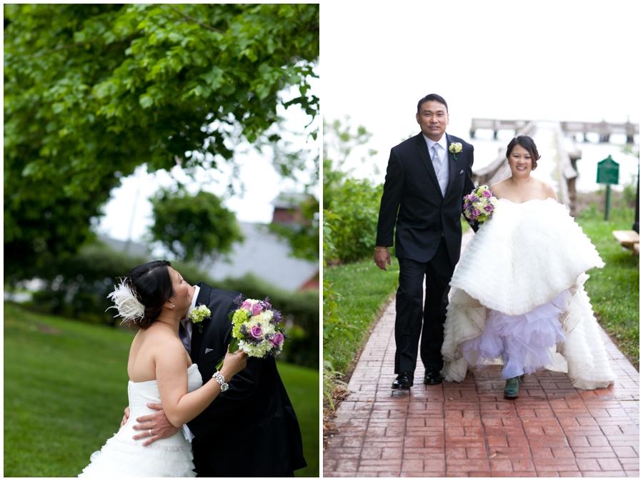 Chic Farm Wedding Photograph - Maryland Wedding Photographer