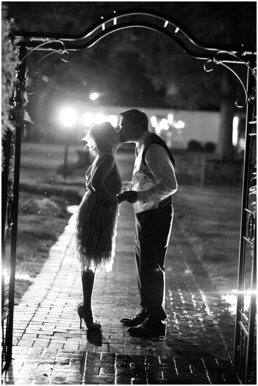 Chic Farm Wedding Photograph - Evening Maryland Wedding Photographer