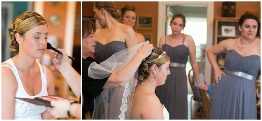 Country rustic wedding getting ready - Davidsonville Farm Wedding Photographer