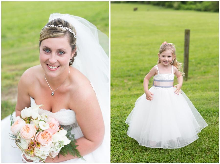 Spring Bridal Portrait - Davidsonville Farm Wedding Photographer