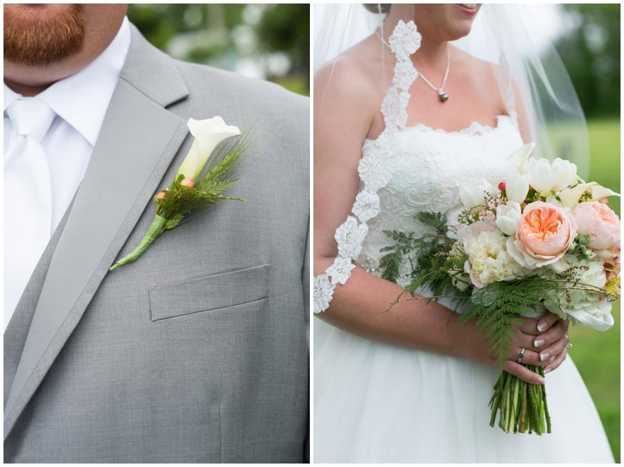 Spring Farm Wedding Details - Davidsonville Farm Wedding Photographer