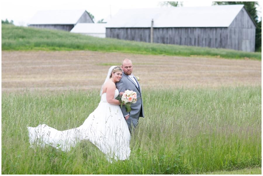 Rolling Field wedding photograph - Davidsonville Country Farm Wedding Photographer
