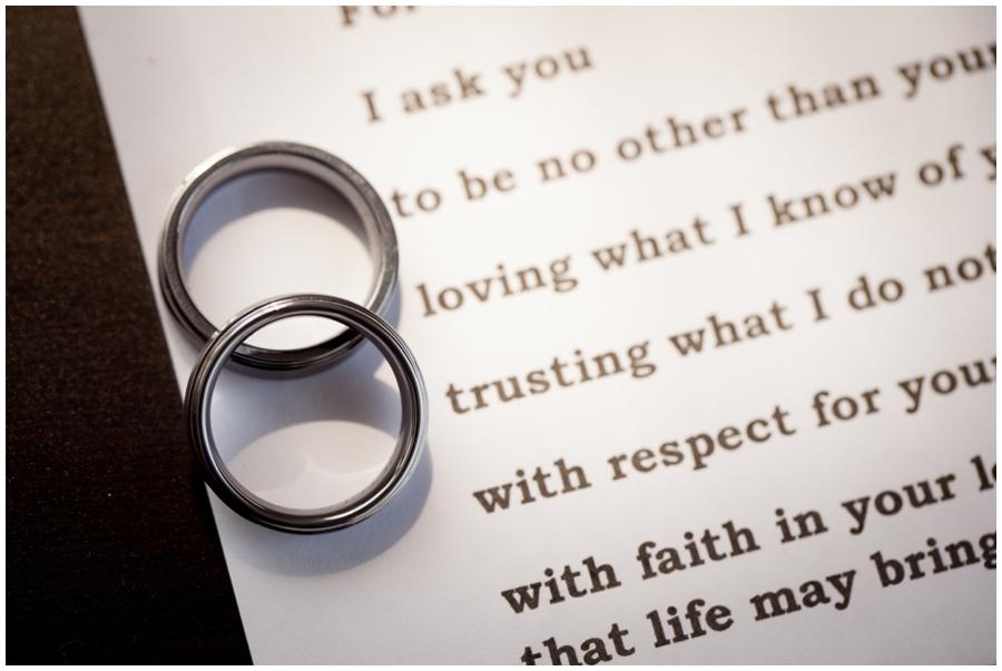 MA LGBT Wedding Photographer - Wedding Band Ring Detail