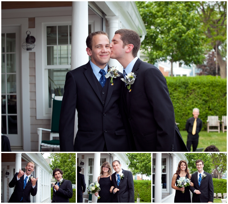MA LGBT Wedding Photographer - HIngham MA waterfront outdoor ceremony