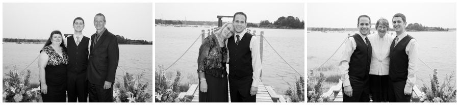 Scituate MA Waterfront Wedding Photograph - MA Destination Wedding Formal
